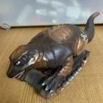 戦車の上に乗ってる恐竜で『恐竜戦車』。懐かしのソフビレビュー&解説。